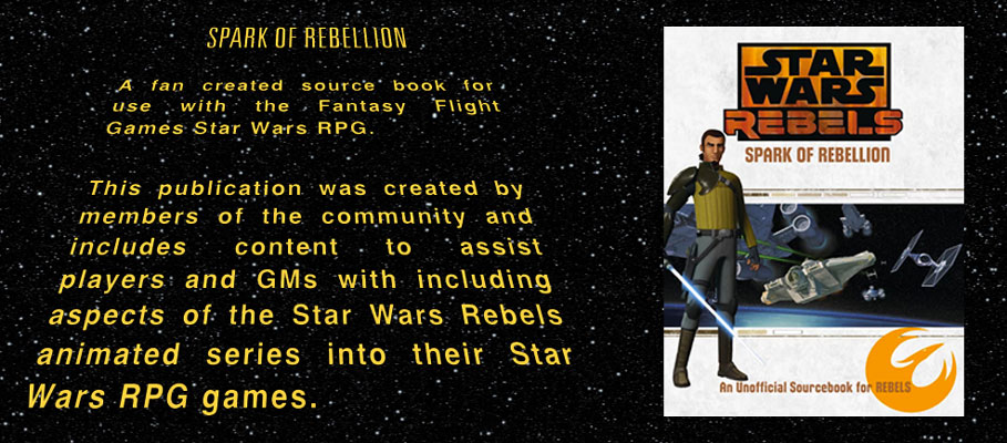 Star Wars Rebels Sourcebook